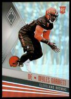 2017 Panini Phoenix Football Card #141 Myles Garrett RC