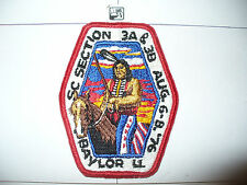 OA 1976 Area SC 3a,3b, Conference Patch,pp,327 Huaco HOST,60,99,113,137,Texas,TX