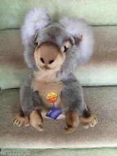 Vintage Steiff Molly Koala Bear Tag 0331/40 Mint W/ All ID, Tags, Button Etc.