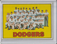 Los Angeles Dodgers 1967 Topps Baseball Team Card #503 (A)