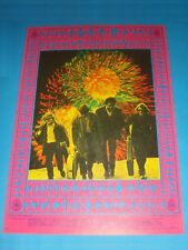 Rare 1967 STEVE MILLER BAND Avalon Ballroom POSTER FD70 Signed by VICTOR MOSCOSO