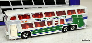 TOMICA 1/100 - L18 NEOPLAN BUS CHUO COTO TRAVEL CLUB DIECAST MODEL BUS / COACH