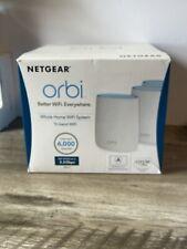NETGEAR Orbi RBK23 Whole Home AC2200 Tri-band WiFi System Up to 6,000 Sq Feet