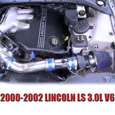 BLUE 2000-2002 LINCOLN LS BASE LSE SEDAN 3.0 3.0L AIR INTAKE KIT SYSTEMS