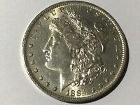 1 Morgan Dollar 1884 O / 1884 CC
