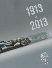 Aston Martin Centenary Celebration Programme 1913-2013
