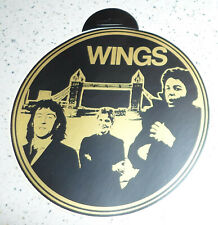 "original big 1970s WINGS Sticker 7 ,4"" / 20 cm Germany"