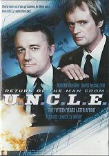Robert Vaughn/David McCallum: RETURN OF THE MAN FROM U.N.C.L.E. New/Unsealed Rg1
