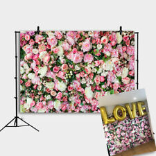 Rose Flowers Wall Background Valentine's Day Theme Party Photography Background