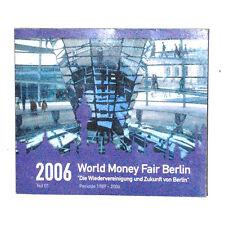 RARE COFFRET FDC EURO PAYS BAS 2006 WORLD MONEY FAIR BERLIN  KMS   8 PIECES