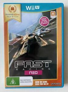 Fast Racing Neo Wii U GC PAL