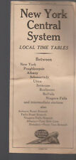New York Central System Local Time Table September 30 1945