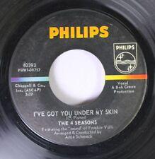 Pop 45 The 4 Seasons - I'Ve Got You Under My Skin / Huggin' My Pillow On Philips