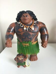 Disney Maui Hasbro Action Figures Toy Large & Small Figures From Moana