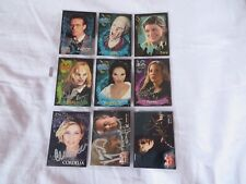 Buffy / Angel 9x autographed trading cards