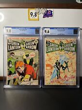green lantern 85 cgc 9.0 And 86 Cgc 9.6