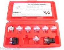 9pc ATE PRO ELECTRONIC FUEL INJECTION SIGNAL NOID LIGHT TESTER SET 31098 FORD GM