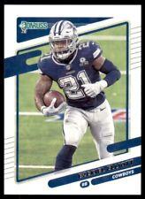 2021 Donruss Base #188 Ezekiel Elliott - Dallas Cowboys