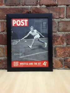Framed Original Vintage Cover Page from Picture Post Magazine June 26, 1948