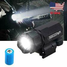 5000LM Tactical LED Flashlight Gun Light w/Picatinny Rail Mount For Pistol Rifle