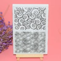 Photo Album Clear Transparent Stamp Scrapbooking DIY Crafts Silicone Rubber