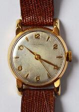 Longines Armbanduhr vergoldet 10 Karat mechanisch Handaufzug Herrenuhr