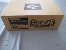 >> SUPER MARIO RPG NINTENDO SQUARE SFC SUPER FAMICOM NEW FACTORY CASE OF 10! <<