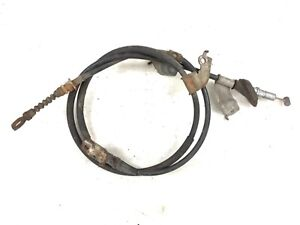 02-05 Civic Si 2.0L Left Emergency Parking Hand Disc Brake Cable Wire Cord OEM
