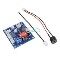 12V PWM PC CPU Fan Temperature Control Speed Controller Module High-Temp Alarm M