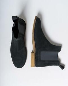 Bottega Veneta $820 NIB Gray Grey Chelsea Boots Slip-On Shoes 45 eu 12 US