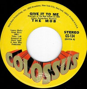 """NORTHERN SOUL - THE MOB - GIVE IT TO ME - COLOSSUS - """"HEAR"""""""