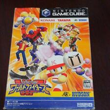Dream Mix TV World Fighters GameCube GC Hudson Used Japan 2003 Boxed Tested