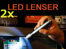 2x Zweibrüder LED LENSER V2 Triplex 7647 Taschenlampe 65 Lm Lampe Sportlampe