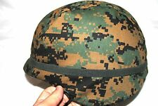 US MARINE CORPS - USMC LEVEL IIIA COMBAT HELMET - MEDIUM