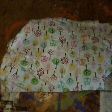 "Pottery Barn Kids ""Brooke - Owls/Trees"" Crib Flat Sheet"