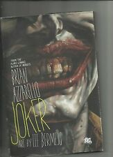JOKER Hardcover by Brian Azzarello  art by Lee Bermejo  DC Comics