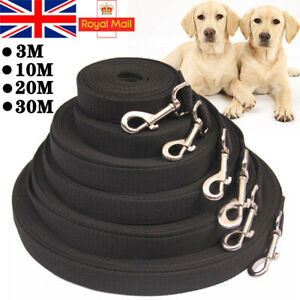 Heavy Duty Extra Long Dog Training Lead Strong Leash Large Recall Line Walking