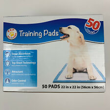 """Pet All Star Training Pads ~ 44 Count ~ 22"""" x 22"""" - Absorbent Odor Control GREAT"""