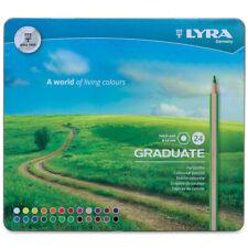 Lyra 2871240 Graduate Colored Pencils Metal 24Bx(Np)