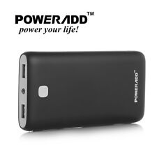 Poweradd 20000mAh Power Bank Portable Charger Dual USB Phone External Battery