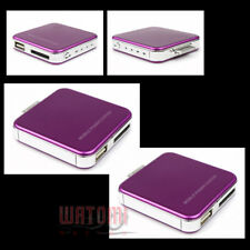 2X 2200MAH EXTERNAL PURPLE BATTERY BACKUP CHARGER USB IPHONE 4S 4 3GS IPOD TOUCH