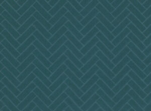Kirkby Design Plush Plie Herringbone Velvet Fabric- PARQUET TEAL 10 yd K5191/05