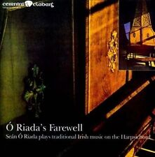 Sean O Riada -O Riada's Farewell CD Irish Traditional Music Free UK P&P