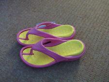Airwalk Pink And Yellow Flip Flops Size 6 BNWT