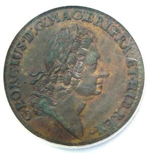 1723 Rosa Americana Twopence 2Pence Coin 2P - NGC Uncirculated Details (UNC MS)