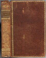 IDYLLES de THÉOCRITE Notes de M. A. CROS texte Grec-Français dédié au Roi 1822