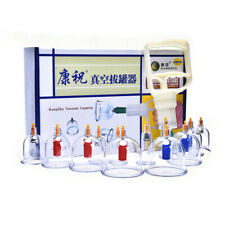 Kangzhu Cupping Therapy Set Vacuum Suction Cupping Body Massage Set 12Cups