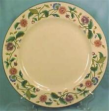 The Castlegarden Collection Dinner Plate Citation Mauve Lavender Blue Flowers
