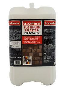 Fugenfestiger Pflasterversiegelung 10 Liter   Festiger Sand Fugen Unkrautschutz