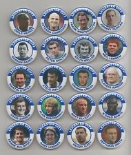LEICESTER CITY  FC  LEGENDS MAGNETS  X 20    38mm  In Size